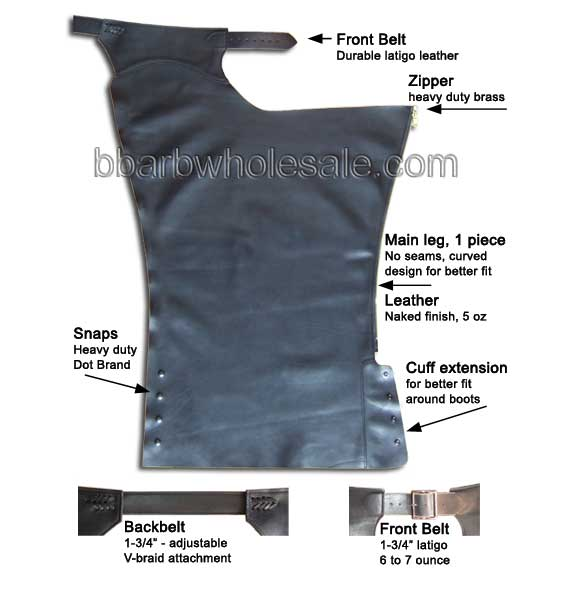 Motorcycle Chaps For Men And Women Made In USA