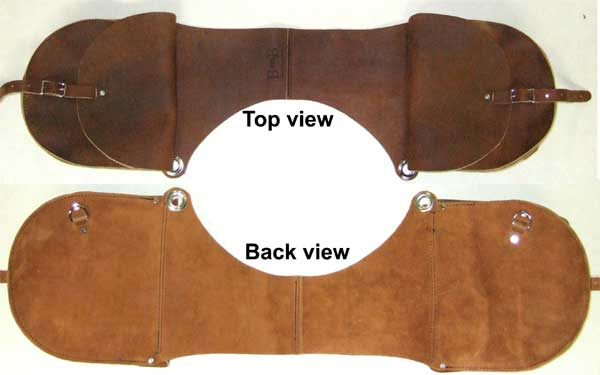Saddle Bags Light Weight Trail Western Style Click To Enlarge
