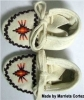 Baby Moccasins, 3.5 inches long, 1.75 inches wide , MC#3