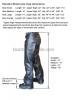 Stock Motorcycle chaps, Made in USA