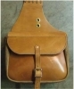 "Saddle Bags, Ex Hvy 9""x12""x6"", 10 ounce oiled harness leather"