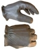 motorcycle gloves, deerskin