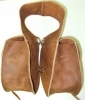 Saddle bags, light weight trail, western style